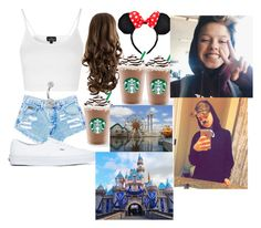 """""""For @ourjourney Disneyland w/ Jacob and Joey ❤"""" by crystalhemmings11 ❤ liked on Polyvore featuring Topshop, Bling Jewelry and Vans"""