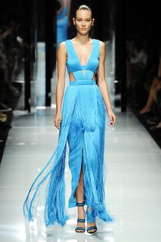 VERSACE - Beautiful Blue Gown