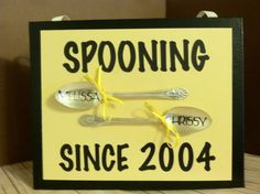 Gifts for mom, Spooning Canvas design 1, Great wedding or anniversary gift, GiFt for her, Gifts for mom, Customized with names, upcycled