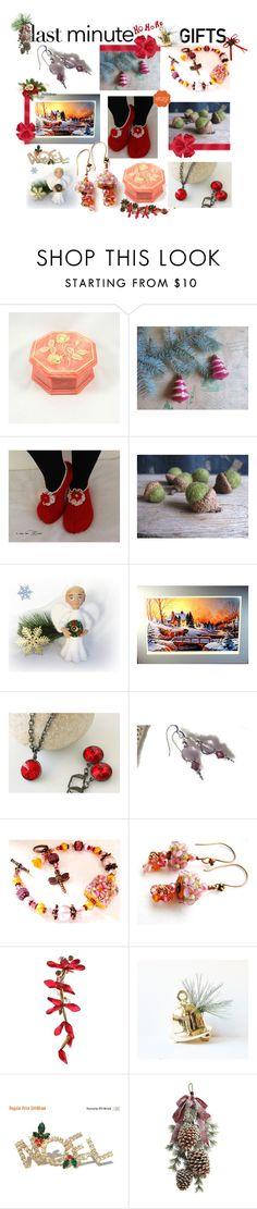 """Last Minute Gifts"" by belladonnasjoy ❤ liked on Polyvore featuring Shishi, giftguide, etsy, gifts and LastMinute"