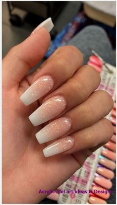 French Fade With Bare And White Ombre Acrylic Nails Coffin Nails . - French Fade With Bare And White Ombre Acrylic Nails Coffin Nails … French Fade With Bare And White Ombre Acrylic Nails Coffin Nails … Summer Acrylic Nails, Best Acrylic Nails, Acrylic Nail Art, Summer Nails, Acrylic Nails Coffin Ballerinas, Christmas Acrylic Nails, Acrylic Nail Designs For Summer, French Tip Acrylic Nails, Simple Acrylic Nails