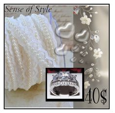 """SENSE OF STYLE JEWELRY"" by lejla150 ❤ liked on Polyvore featuring beauty and Valentino"
