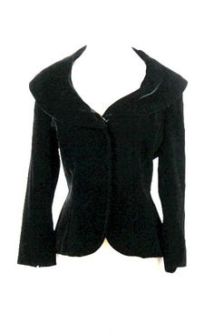 New RALPH LAUREN BLACK LABEL Velvet Opera JACKET COAT BLAZER 12 | eBay