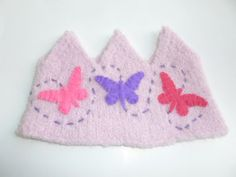 Felted Wool Crown Perfect for a birthday crown or by greenmountain, $15.00