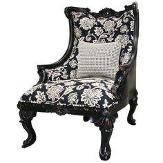 Legion Furniture Wooden Framed Arm Chair & Reviews | Wayfair