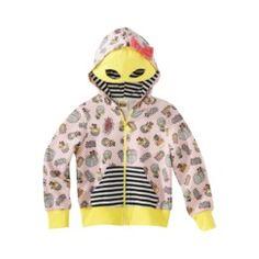 Harajuku Mini for Target® Toddler Girls' Mask Hoodie - Shell Pink Quick Information