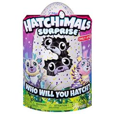 """- Hatchimals Surprise has shown up! Inside each enchanting polychromatic egg are Hatchimals doubles! That will you hatch? - Hold and also rub your Hatchimals Surprise egg and also you will hear lovable noises and also may also see a collection of eyes inside! Love and take care of your egg to assist your doubles hatch! - These Hatchimals share an unique bond - informing each other jokes, playing video games, stating """"I love you"""" and also much more! They even feel sad when they're apart for…"""