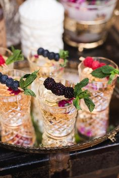 Look at these delicious berry cocktails! From youthful spring wedding colors to angelic butterflies, there is so much to swoon over within this styled shoot! If you enjoy vintage decor, we know you'll enjoy this fun boho wedding.