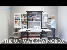Ultimate SewingBox Opening in Real Time - YouTube