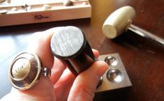 How to dap and dome metal jewelry « Rings and Things