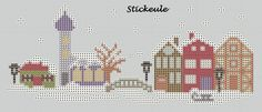Stickeule: houses