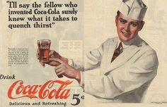 Vintage Coca-cola ad