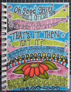Art journals and the Meaning of Life ...