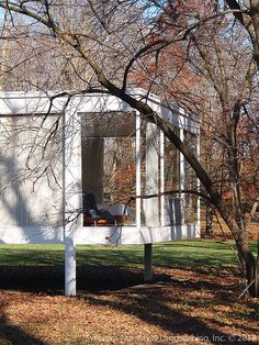 The Edith Farnsworth House by Ludwig Mies van der Rohe ~ Plano, Illinois
