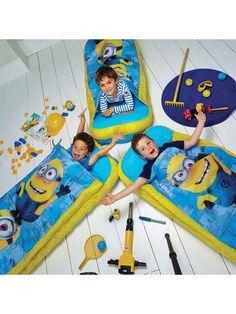 Minions JUNIOR Ready Beds - Minions Bedding