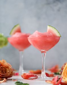 watermelon frosé I h