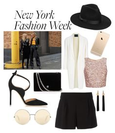 """NYFW"" by www-krawolle on Polyvore featuring Mode, Alexander Wang, Gianvito Rossi, Lack of Color, Victoria Beckham, Boutique Moschino und Yves Saint Laurent"