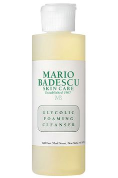 Mario Badescu Glycolic Foaming Cleanser is a lathering, deep cleanser that has the exfoliating powers of glycolic acid to break down build-up from skins surface, reduce minor discoloration and leave skin radiant and smooth. Best Facial Cleanser, Face Cleanser, Facial Cleansers, Make Up Looks, Acne Face Wash, Face Skin, Congested Skin, Mario, Blush