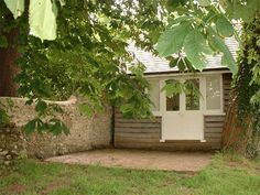 Woolf's writing studio in the back of the Monk's House garden