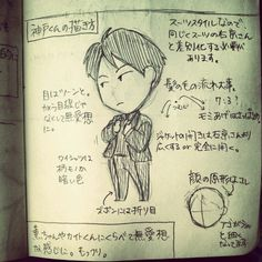 神戸くんの描き方講座。