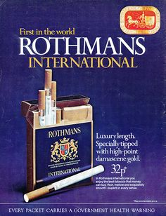 """ROTHMANS""."