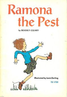 Ramona the Pest (1968) first chapter book I ever read