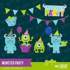 SGBlogosfera. María José Argüeso: MONSTER PARTY