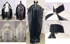 Drape of cape Fashion Show, Fashion Outfits, Womens Fashion, Fashion Design, Glamour Moda, Mode Abaya, Cosplay Diy, Fantasy Dress, Corsage