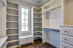 Custom Walk In & Master Closet Design Master Closet Design, Walk In Closet Design, Master Bedroom Closet, Bathroom Closet, Closet Designs, Master Closet Layout, Bedroom Closets, Bedrooms, Closet Renovation