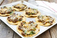Beef, Black Bean, and Spinach Tostadas Recipe on Yummly. @yummly #recipe