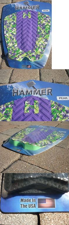 Skimboards 155141: Hammer Traction Purple And Confetti Peak 3Pc Tail Pad Grip Surfboard Skimboard Usa -> BUY IT NOW ONLY: $34.99 on eBay!