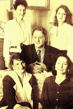 Rupert, Lord Redesdale and his sisters--the current Lord Redesdale.