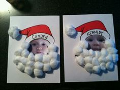 Santa photo craft