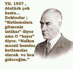 30 ağustos Zafer bayramımız kutlu olsun. İşte Atatürk'üm 30 ağustos 1937 tarihindeki sözleri..