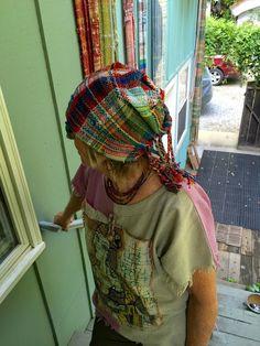 CENTERING WITH FIBER: Weaving Saori Hats Class