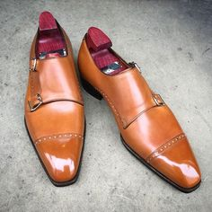 """The """"Mayfair"""" on the square Deco last. Made to... - Gaziano & Girling - Bespoke & Benchmade Footwear"""