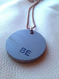 BE Neckpeace by YellowReformation on Etsy, $18.00