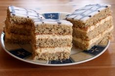 Klassische Esterházyschnitten Coffee Cake, Vanilla Cake, Tiramisu, Rum, Food And Drink, Ethnic Recipes, Desserts, Savings Plan, Blog