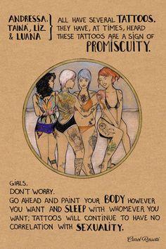 Carol Rossetti - Body Positive Feminist Illustrations