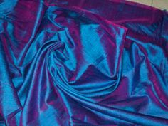 half yard of blue with a tinge of purple 100 by EverythingIndian, $8.50