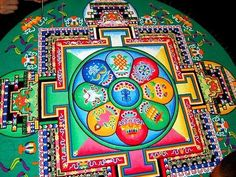 Las palabras mágicas: It's a small world: Spiritual meaning of sand paintings