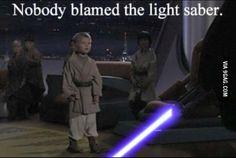 Light saber control?