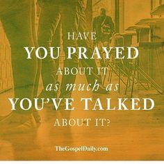 When you talk about it make it a prayer! Talk to god about it! #Godfirst #atheism #JesusChrist #Godisgood #PraiseJesus #PraiseGod #Gospel #JesusSaves #atheist #Jesusislord #hallelujah #thankJesus #thankGod #bible #bibleverses #religion #JesustheLord #christian #christianity #muslim #Godislove #thankyoujesus #thankyouGod #God #Jesus #Godbless #Godblessyou #Godblessamerica #JesusLovesyou @thegospeldaily #girl by @faithchat via http://ift.tt/1RAKbXL