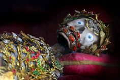 Jewelled skeleton, St Clemens, Church of Sts Peter and Paul, Rott-am-Inn, Germany