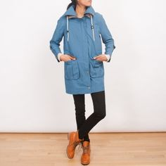 Frances May rain parka