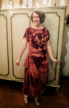 13a9c9d1fcf24 Festive Attyre: 1-hour dress, lawn party edition Charleston Kleid, First  Sewing