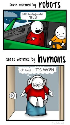 I almost choked from laughing so hard....Minor Differences Part 6 - The Oatmeal
