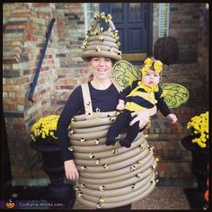 18 Creative Halloween Costumes for Parents and Baby. How cute are these?!