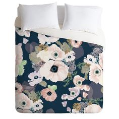 Khristian A Howell Une Femme In Blue Duvet Cover | DENY Designs Home Accessories