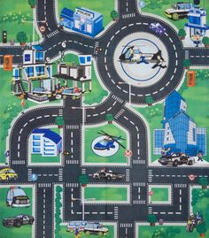 Kids Childrens Boys Car Road Play Mat Roll Up bithday Xmas Gift ...